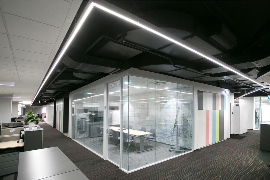 Номинация «Светодизайн» Первый победитель: офис компании АBB / архитектурное бюро MAD Architects