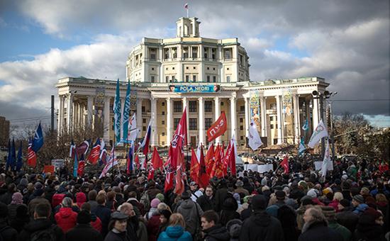 """Митинг """"Остановить развал медицины Москвы!"""""""