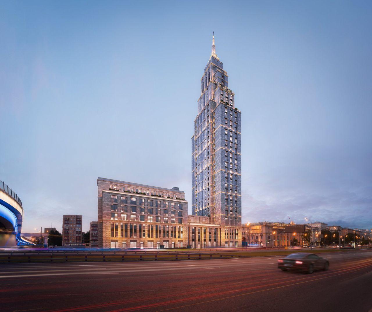Комплекс апартаментов Alcon Tower