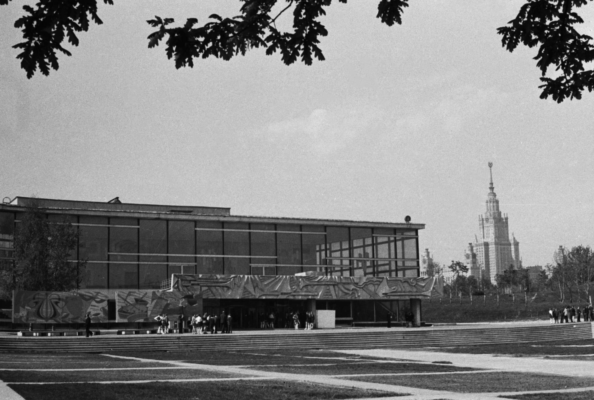 6 мая 1975 года. Дворец пионеров на Ленинских горах