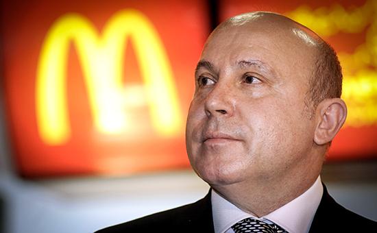 Президент McDonald's в России и Центральной Европе Хамзат Хасбулатов