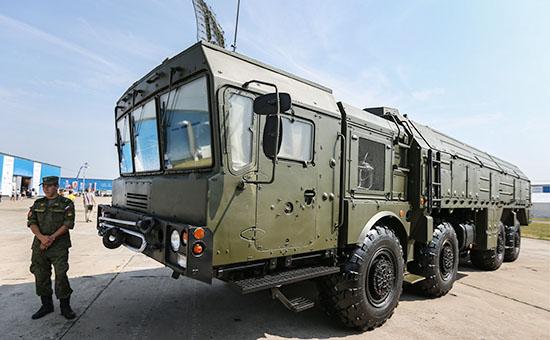 Высокоточный оперативно-тактический ракетный комплекс сухопутных войск «Искандер»