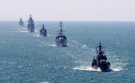 Военно-морские учения НАТО в Европе (архивное фото)