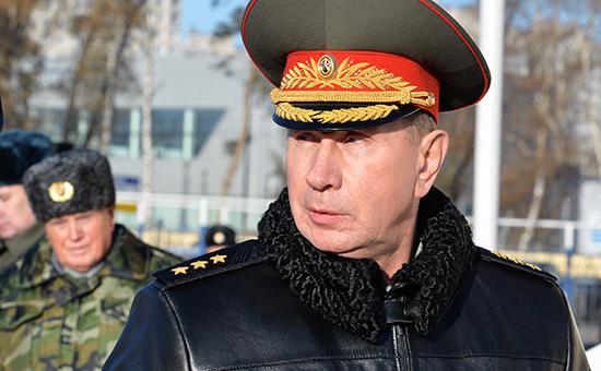 Глава создаваемой Нацгвардии Виктор Золотов. Фото: октябрь 2014 г.