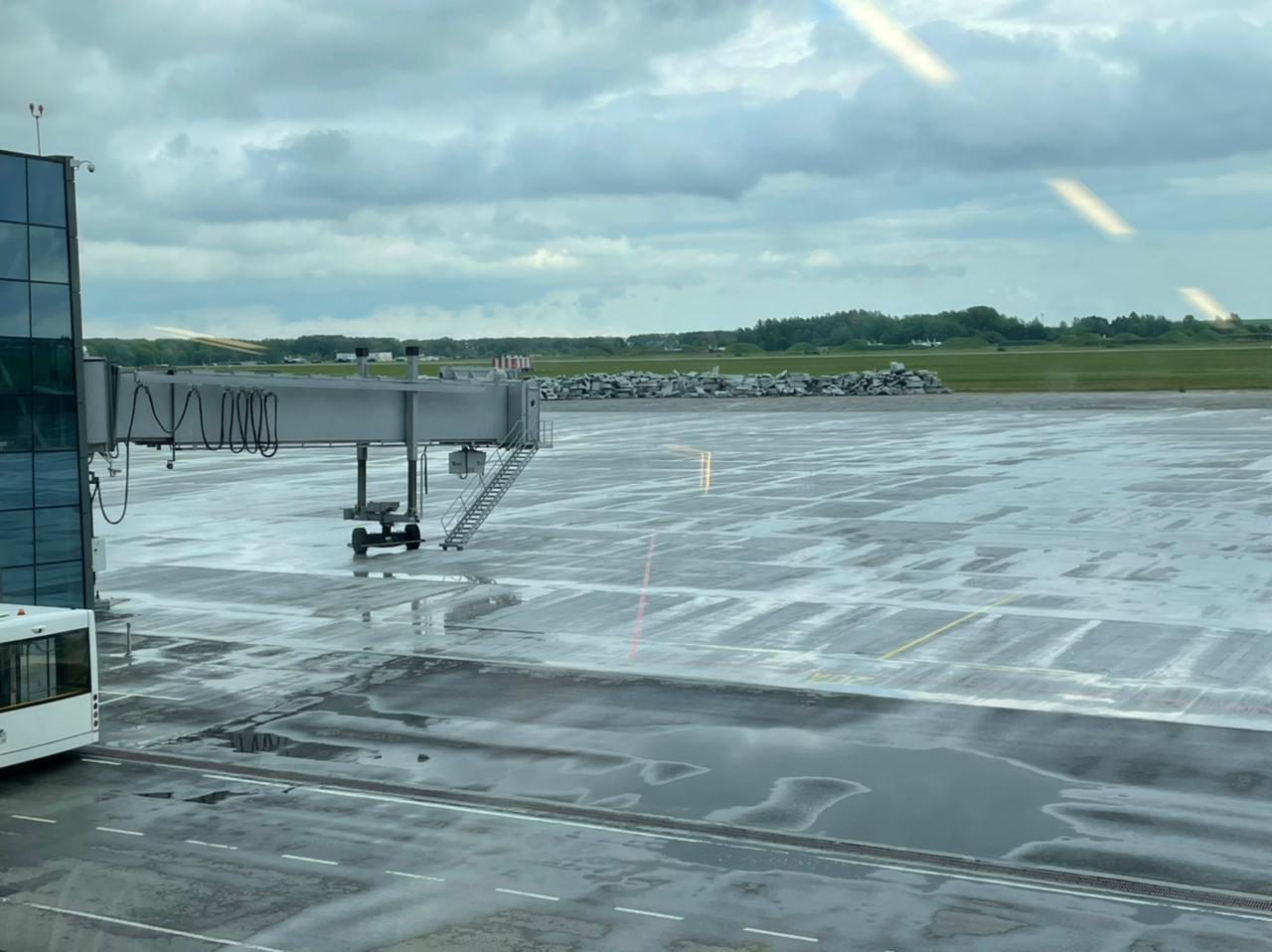 Причиной вынужденной посадки самолета в Перми стал отказ двигателя