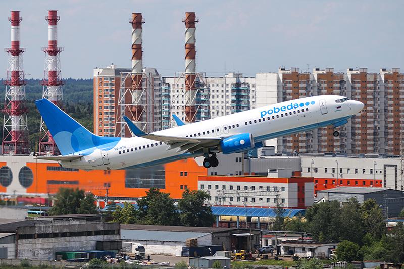 Лоукостер «Победа»— самый молодой российский авиаперевозчик ссамым молодым парком. Их Boeing всреднем всего год