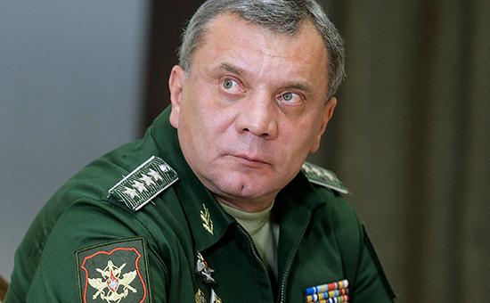 Заместитель министра обороны РФ Юрий Борисов, ноябрь 2015 года