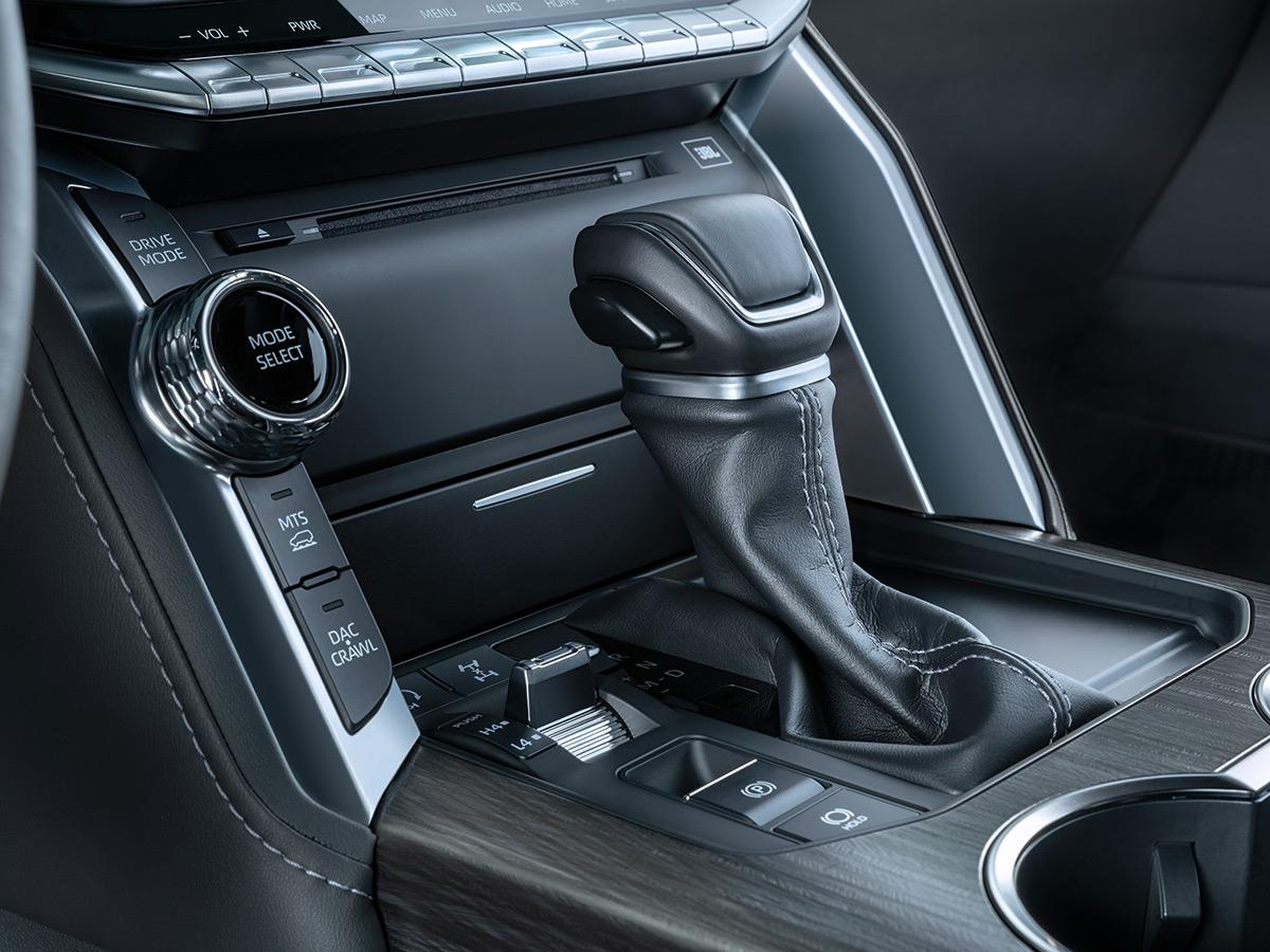 Селектор трансмиссии Toyota Land Cruiser 300