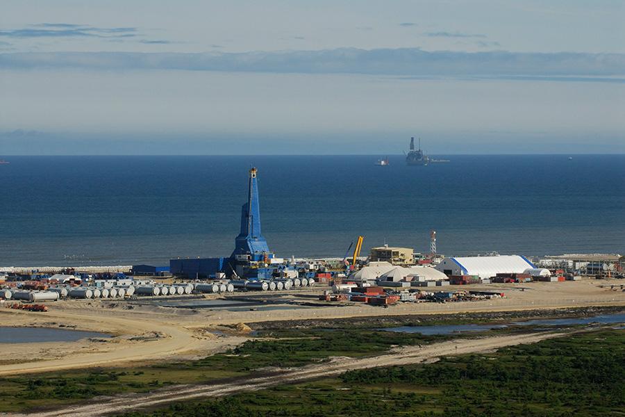 Буровая установка «Ястреб». Проект«Сахалин-1»