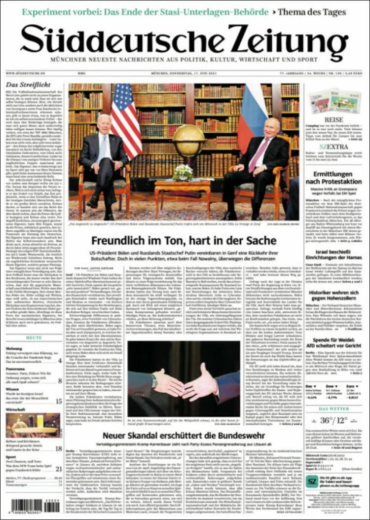Süddeutsche Zeitung, Германия