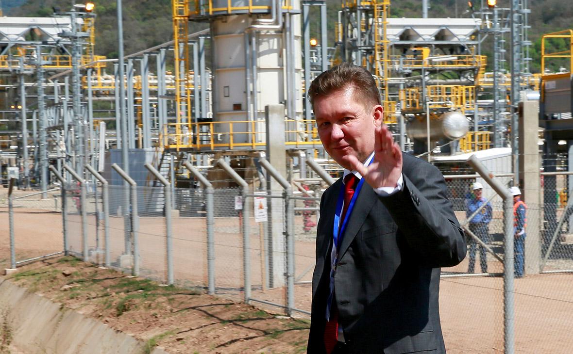 Председатель правления ПАО «Газпром» Алексей Миллер