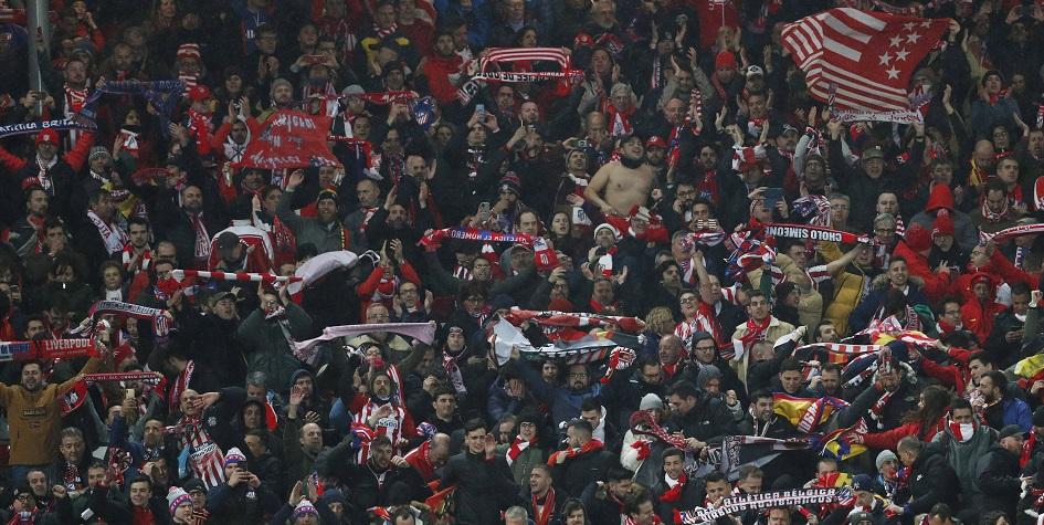 Болельщики на матче «Ливерпуль»— «Атлетико»