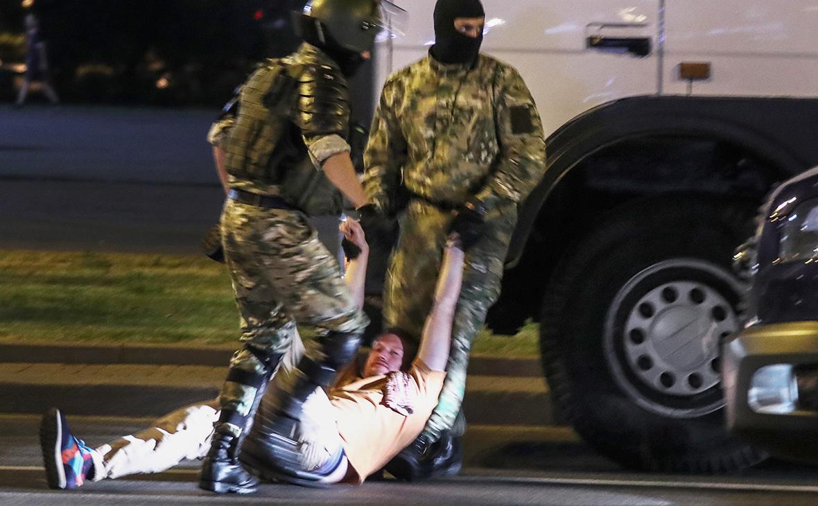 Задержание Семёна Пегова, Минск, Белоруссия
