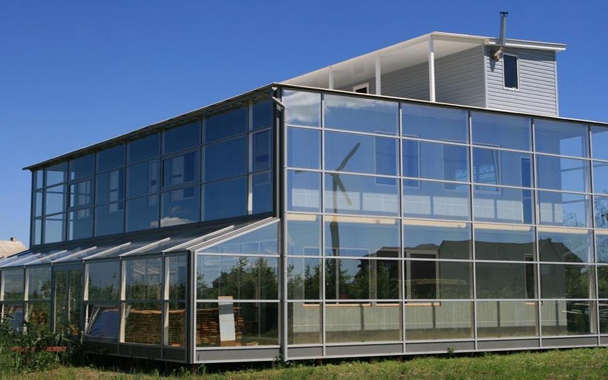 Наиболее оптимальный дом с точки зрения энергоэффективности