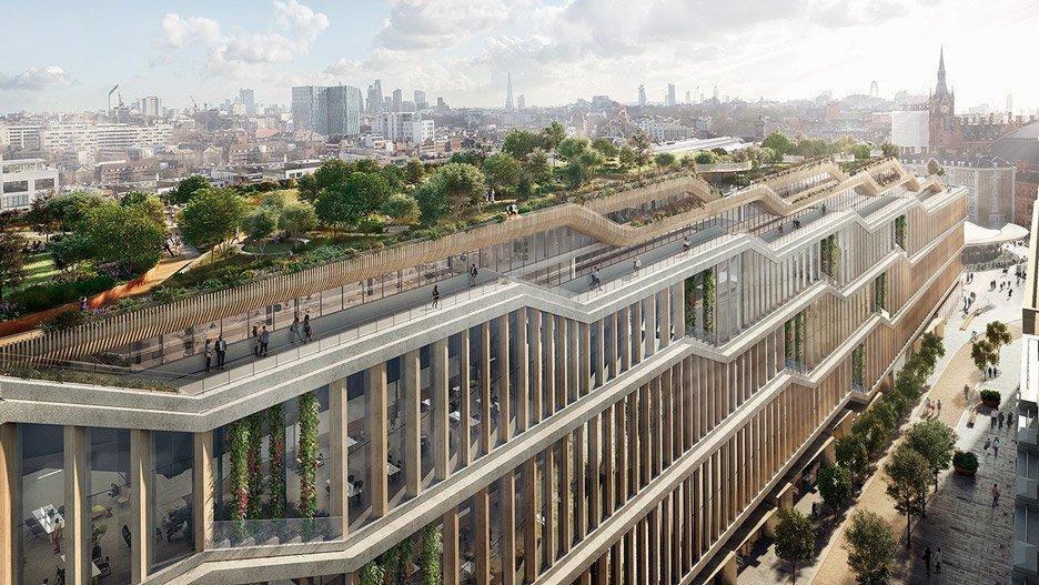 Запланированное здание будет 330м вдлину, 11 этажей ввысоту иплощадью около93тыс.кв. м