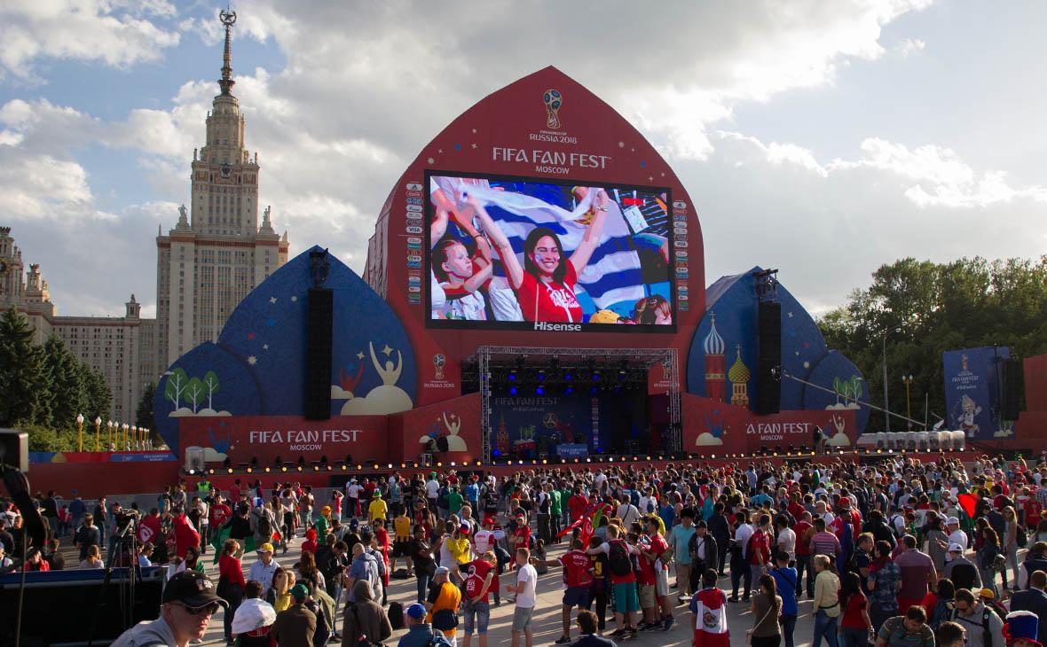 Власти Москвы рекомендовали воздержаться от посещения фан-зоны у МГУ