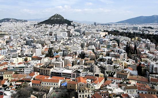 Вид наАфины, Греция