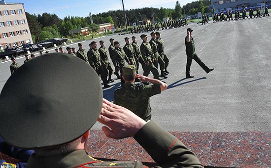 Проводы и отправка призывников на службу в армию
