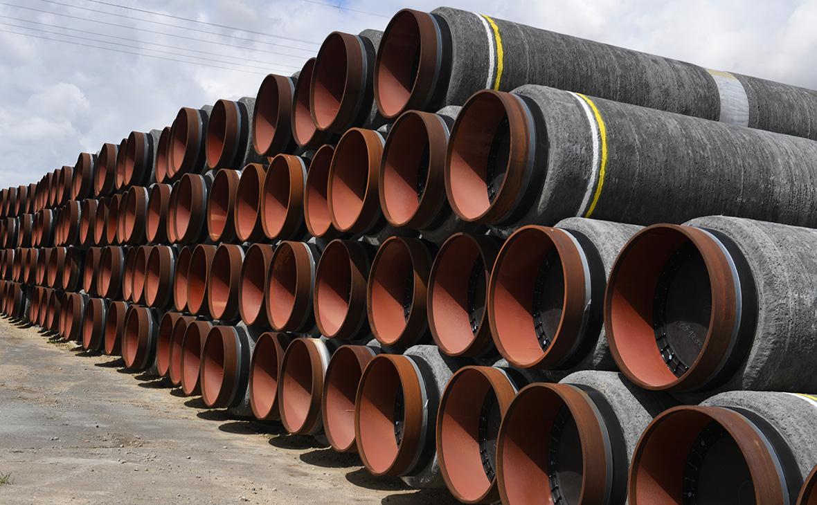 Трубы для газопровода «Северный поток-2»