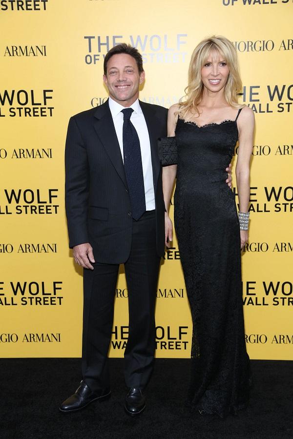 Джордан Белфорд на премьере фильма «Волк с «Уолл-стрит» в Нью-Йорке