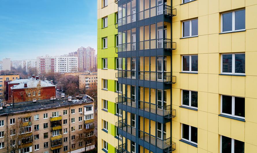 В новых многоэтажках будут предусмотрены квартиры свободной планировки сбалконами, лоджиями ифасадными корзинами длякондиционеров