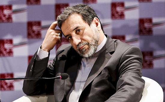 Замглавы иранского МИДа Аббас Арагчи
