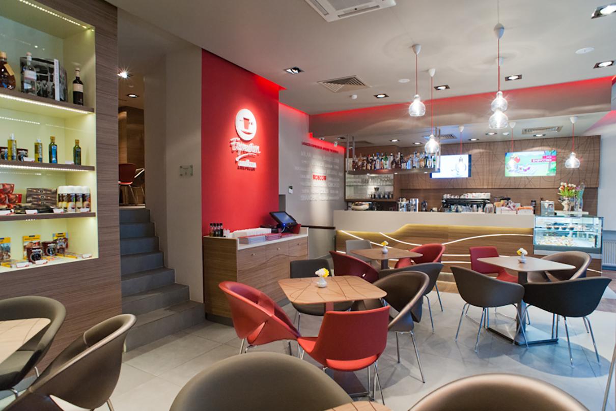 Итальянская кофейня Lavazza Espression в Москве