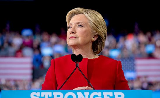 Кандидат в президенты СШАХиллари Клинтон
