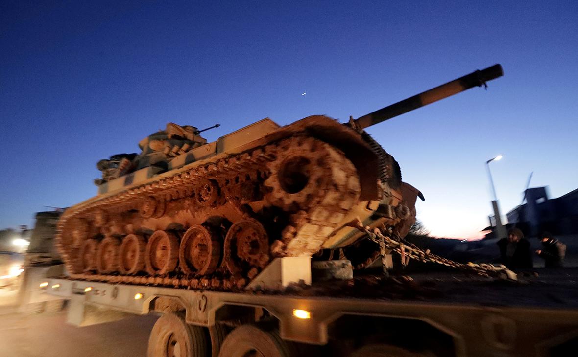 Турецкая артиллерия рядом сИдлибом