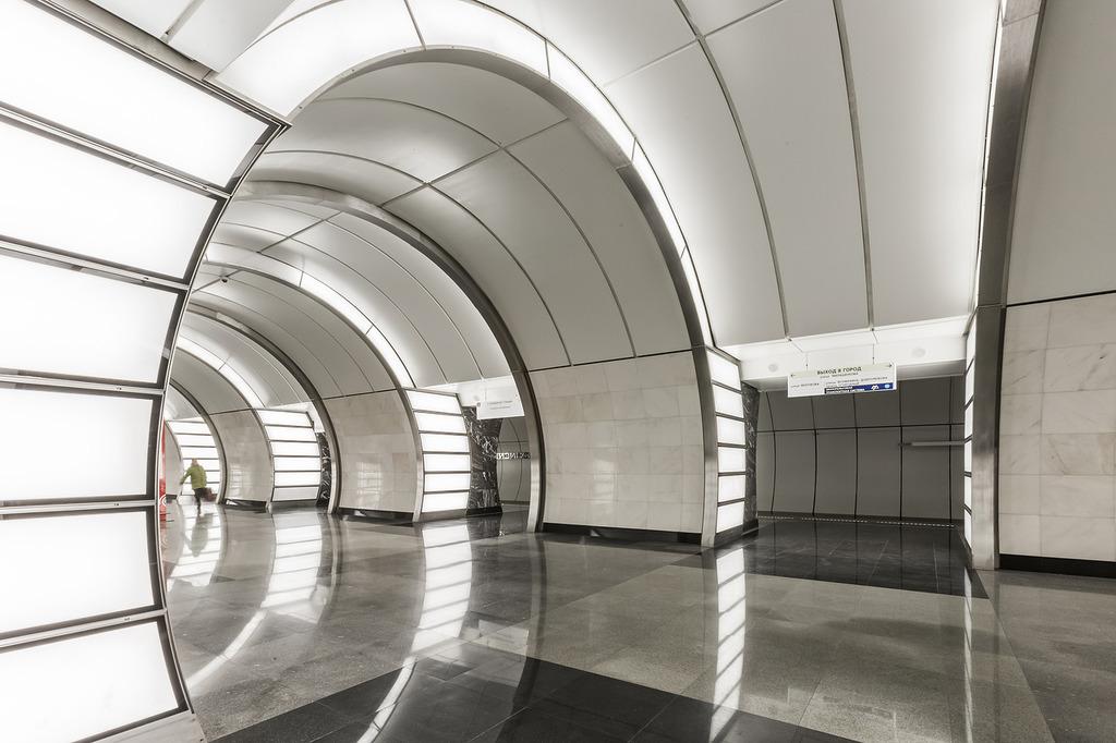Вестибюль станции «Фонвизинская» московского метро