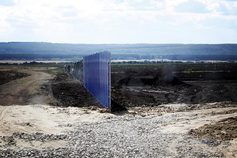 Начало строительных работ рядом с селом Солоти Валуйского района Белгородской области