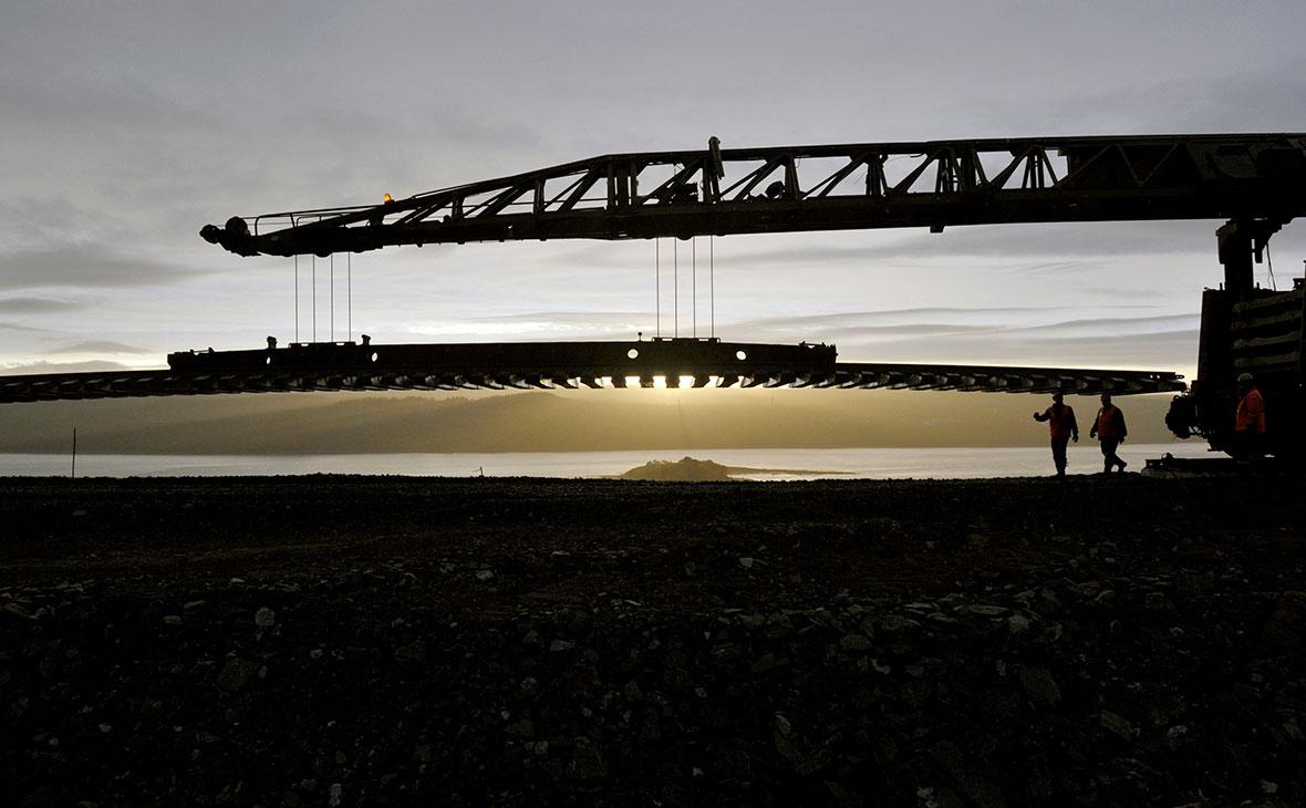 Железнодорожники завершают работы по восстановлению железной дороги под Мурманском