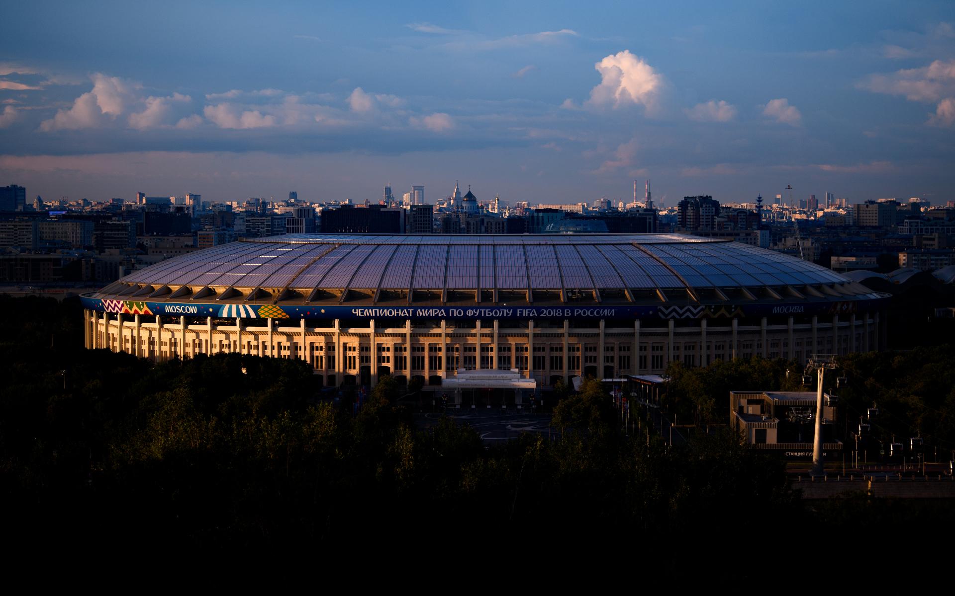 Фото: Стадион Лужники (Photo by Matthias Hangst/Getty Images)