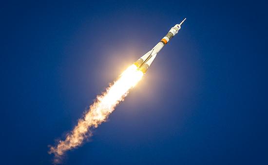 Запуск ракеты «Союз-ФГ» спилотируемым кораблем «Союз ТМА-19М» накосмодроме Байконур