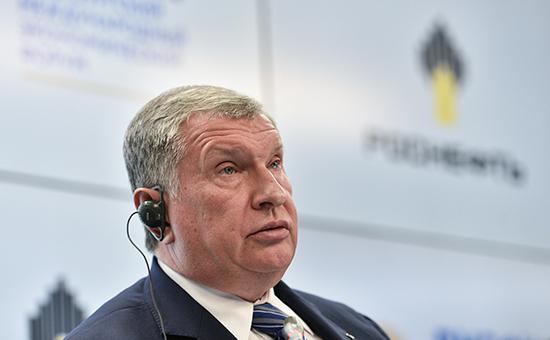 Директор «Роснефти» Игорь Сечин