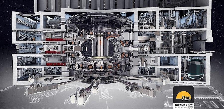 Макет реактора ITER