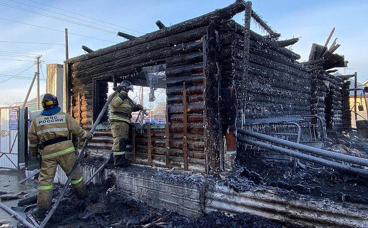 В Башкирии задержали директора сгоревшего пансионата для престарелых