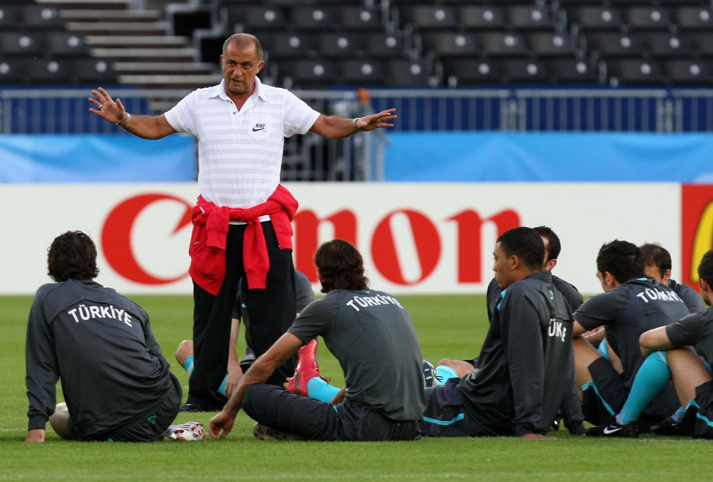 Тренировка сборной Турции на Евро-2008