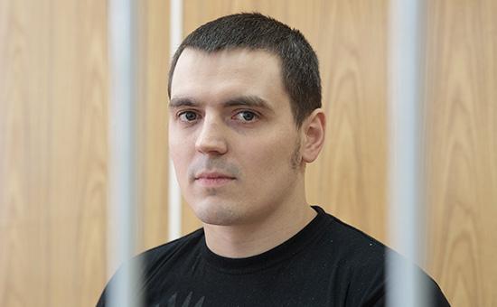 Журналист РБК Александр Соколов вХамовническом суде. 15 июня 2016 года