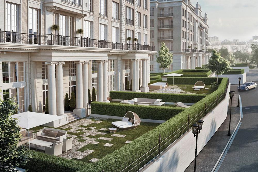 Knightsbridge Private park   Класс: элит Статус: квартиры Разрешение на ввод в эксплуатацию: получено Площадь (кв. м) min-max: 286–519 Стоимость 1 кв. м (тыс. руб.) min-max: 913–1078 Стоимость квартиры/апартаментов (млн руб.) min-max: 261–560