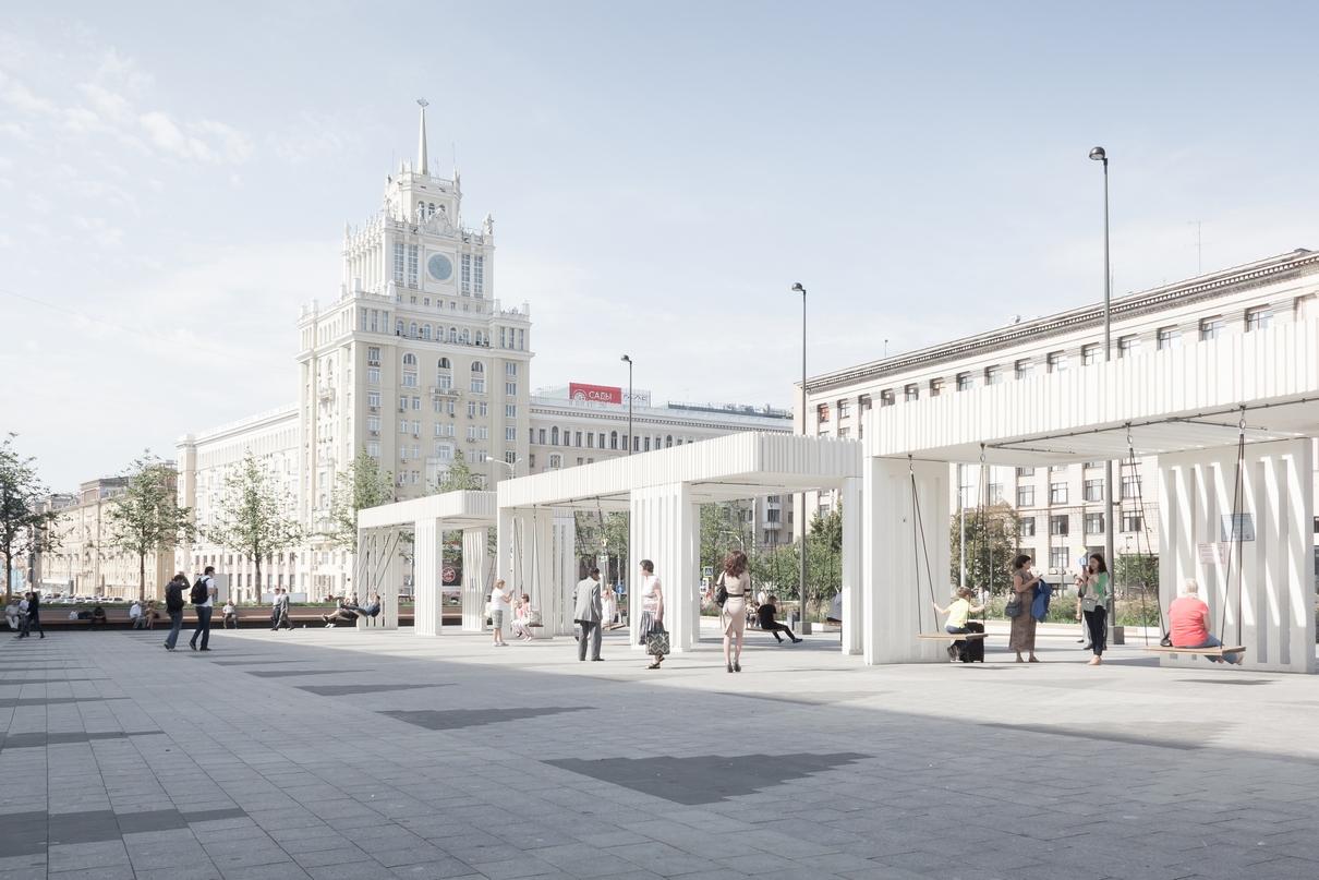 Проект благоустройства Триумфальной площади