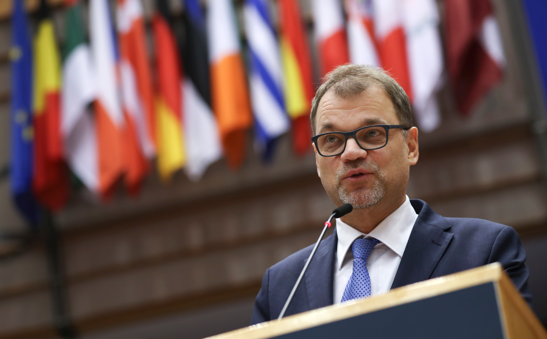 Премьер-министр Финляндии Юхи Сипиля