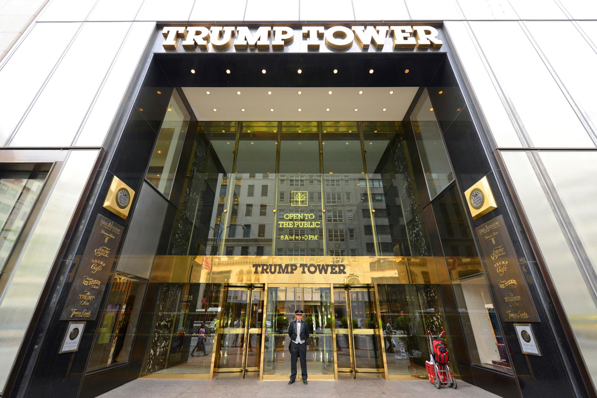 Входная группаTrump Tower