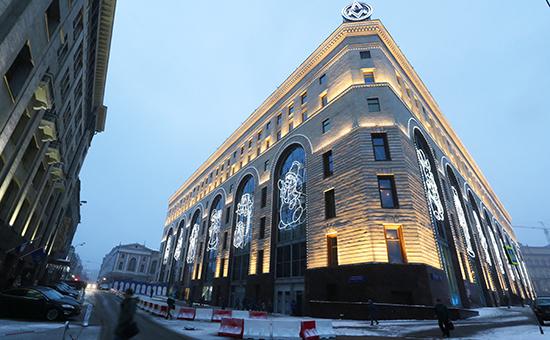 Здание Центрального детского магазина на Лубянской площади