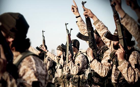 Боевики террористической группировки «Исламское государство» (ИГИЛ), деятельность которой запрещена вРоссии