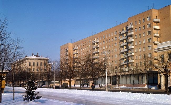 Курск, вид наулицу Ленина