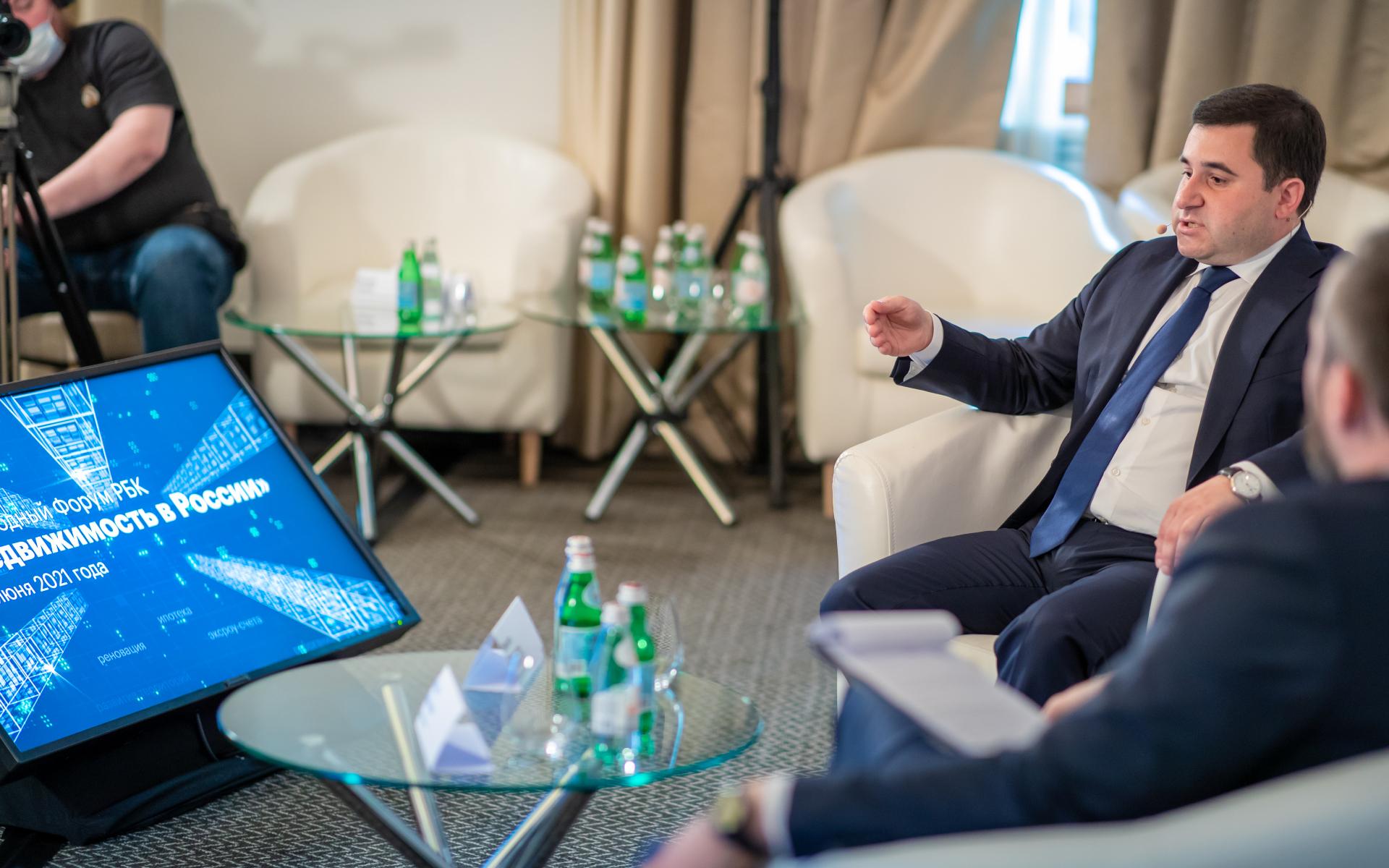 Заместитель министра строительства и ЖКХ России Никита Стасишин