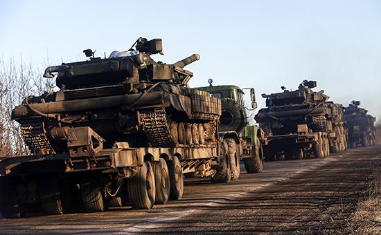 Киев смягчил условия для начала отвода украинских вооружений