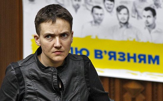 Украинская летчица, депутат Верховной рады, Надежда Савченко