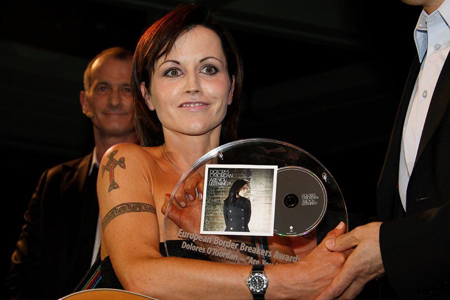 Церемония вручения премии EBBA в Каннах 27 января 2008 года